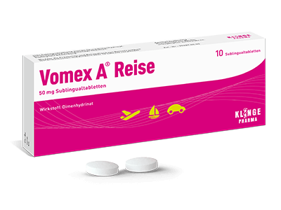 Vomex A® Reise Sublingualtabletten 50 mg